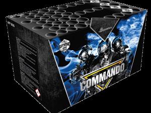 Pyrocentury Commando, Multikaliber-Feuerwerksbatterie, 47 Schuss