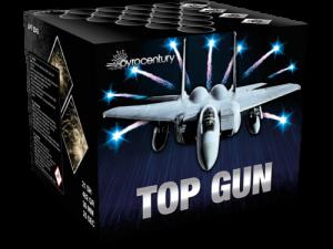 Pyrocentury Top Gun, Feuerwerksbatterie, 21 Schuss