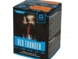 Die Argento Red Thunder Feuerwerksbatterie